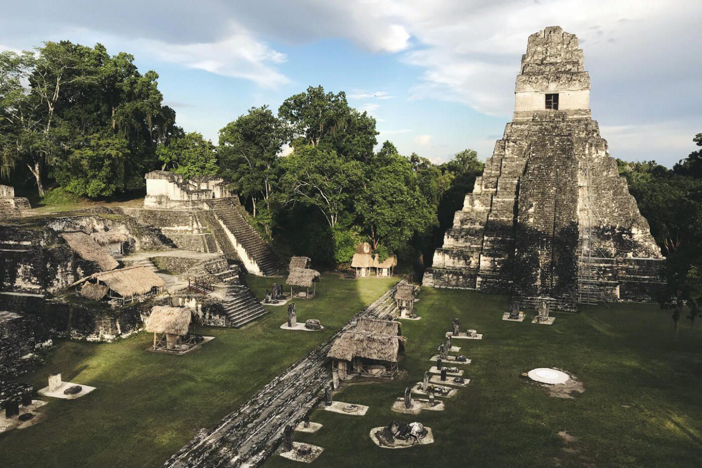 Tempel in Guatemala